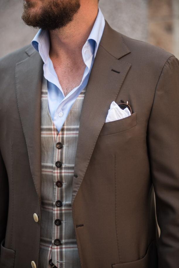 seven button waistcoat