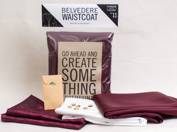 Thread Theory Belvedere Waistcoat Supplies Kit-1