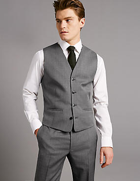 waistcoat with rounded corners