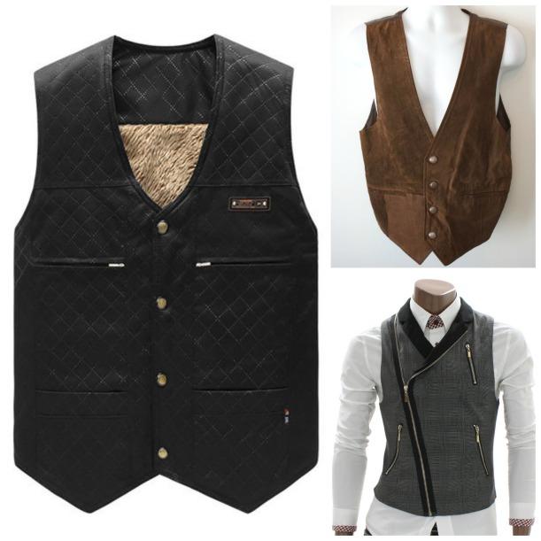 Buttonless waistcoats