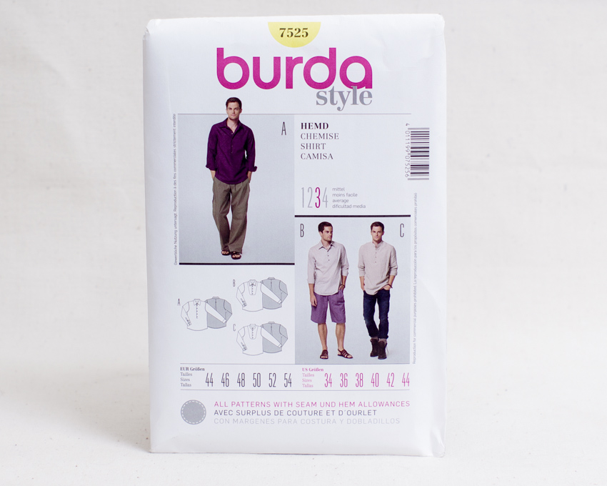 Sewing patterns for men-1