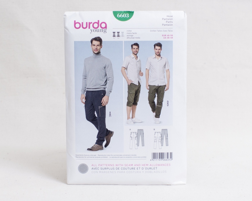 Sewing patterns for men-2