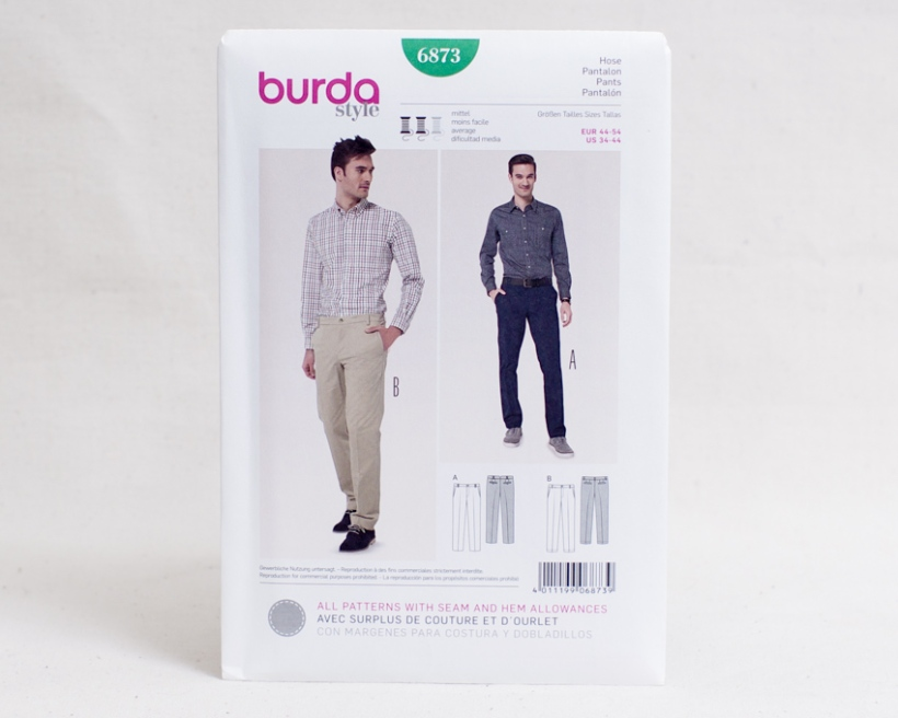 Sewing patterns for men-3