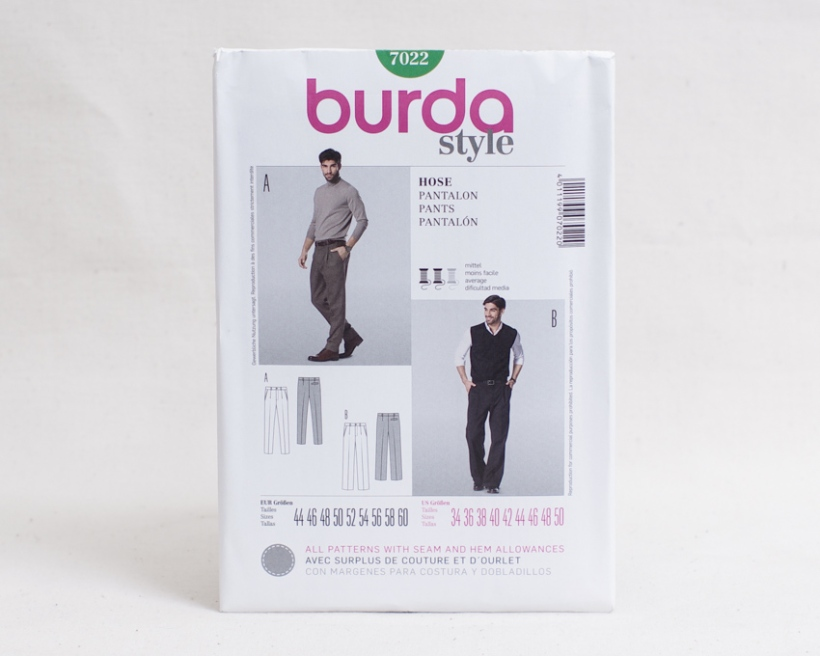 Sewing patterns for men-4