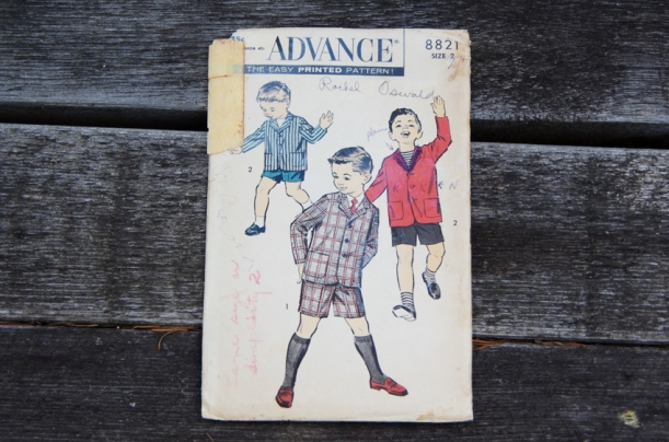 Vintage sewing patterns for men-17