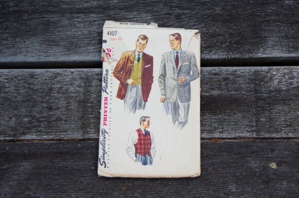 Vintage sewing patterns for men-21