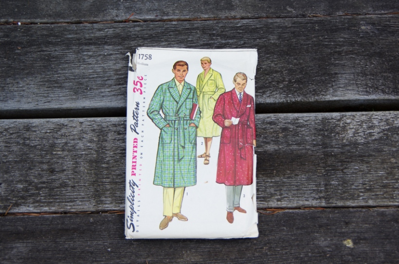 Vintage sewing patterns for men-22