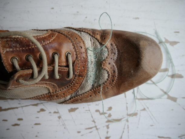 Shoe repair by Tom of Holland