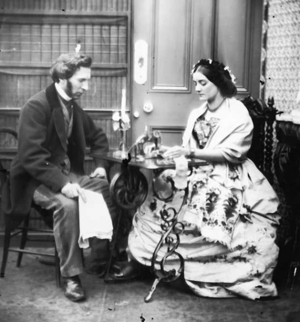 Couple-with-Sewing-Machine