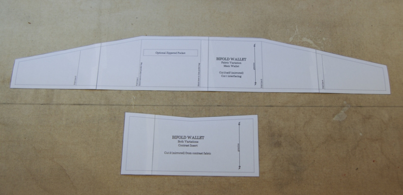 Wallet Sewing Pattern Tutorial-5