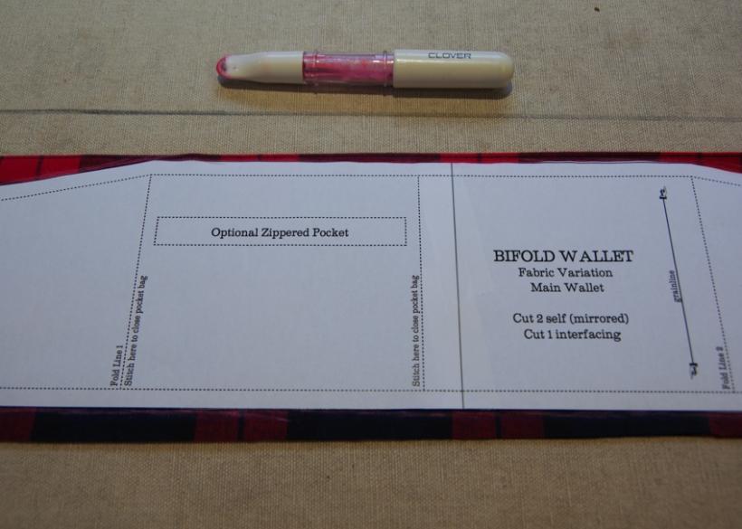 Wallet Sewing Pattern Tutorial-6