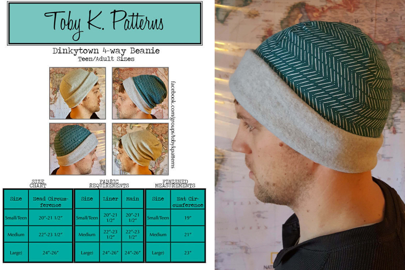 Father's Day sewing project hat