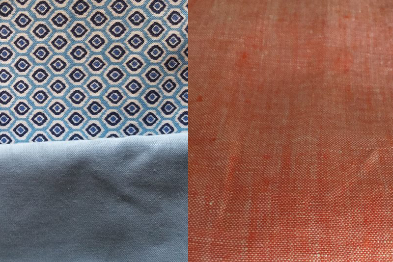Fabric choices for the eastwood pajamas