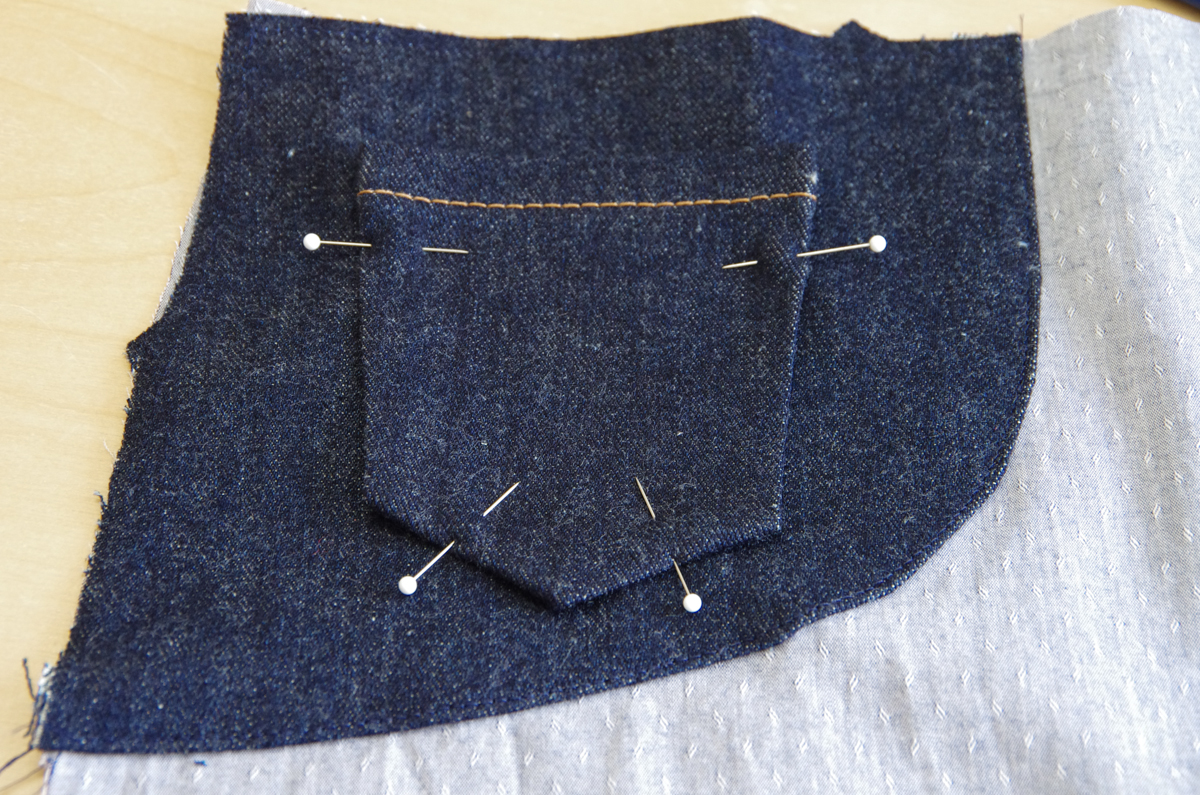 Jeans front pockets-1