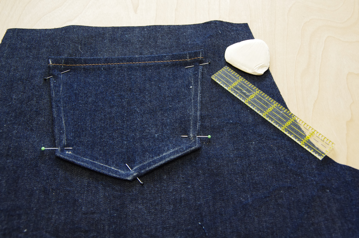 Jeans front pockets-2