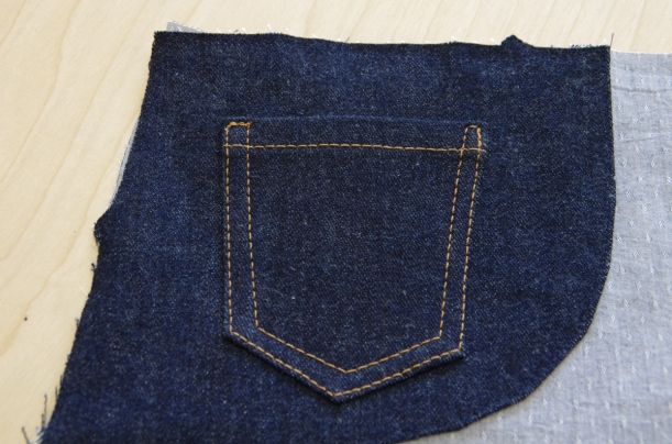 Jeans front pockets-3