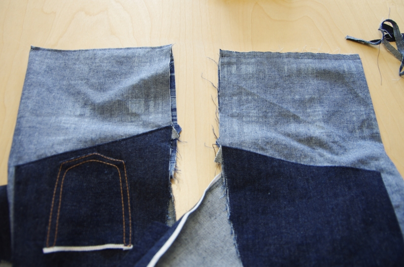 Jeans front pockets-38