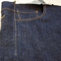 Men's Jeans Sew-Along: Yoke, Inseams and Side Seams
