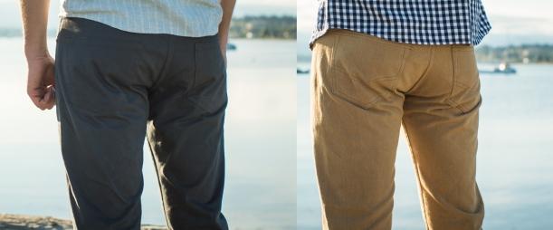 Quadra vs Fulford Thigh Back View