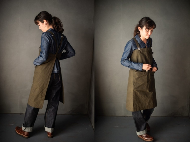 Merchant and Mills Victor Apron